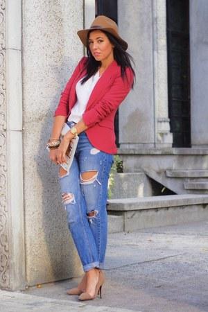 Zara jeans - H&M hat