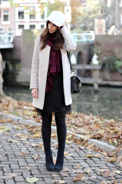 Zara dress - Zara coat - Kenzo hat - PROENZA SCHOULER bag