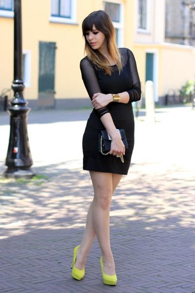 Yellow dress heels – Dress online uk