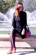 black Comptoir des Cotonniers dress - black Mango coat
