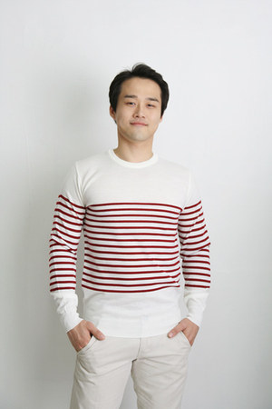 striped TPRBT sweater