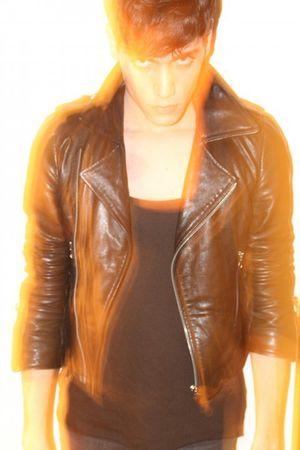black FRAV Vintage 80s Leather Jacket jacket - black Zara shirt - Cheap Monday j