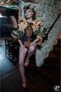 Light-brown-stefanias-treny-look-dress