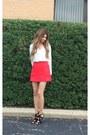 Red-express-skirt