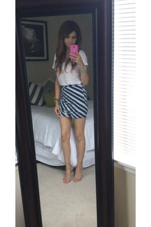 H&M shirt - Victorias Secret skirt