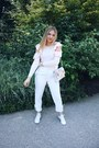 Light-pink-club-monaco-sweater-embroidered-topshop-bag