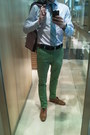 Olive-green-bershka-pants-tawny-zara-shoes-navy-zara-blazer