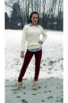 ivory Karen Scott sweater