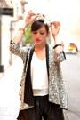 Black-and-white-djeegn-jacket-kate-lee-bag-black-leather-zara-shorts