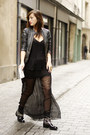 Zara-boots-blue-and-white-she-she-bon-bon-bag-black-lace-lulu-yasmine-top