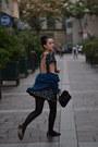 Dress-gallery-dress-vintage-bag-dress-gallery-cardigan-zara-flats