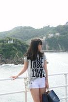 asos t-shirt - H&M shorts