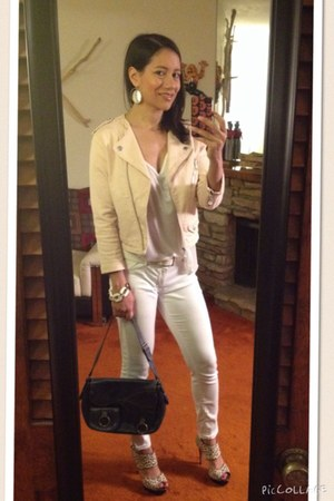white jegging Rich & Skinny jeans
