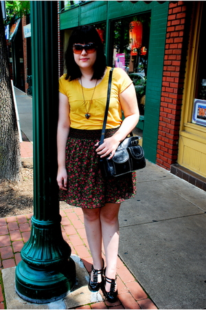 Billabong t-shirt - Target skirt - Urban Outfitters purse - Steve Madden shoes -