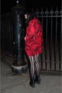 Hi-low-batwing-mink-pink-top-trashy-diva-tights-american-apparel-skirt