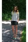 Loft-sweater-forever21-shorts-vintage-sunglasses-jessica-simpson-wedges