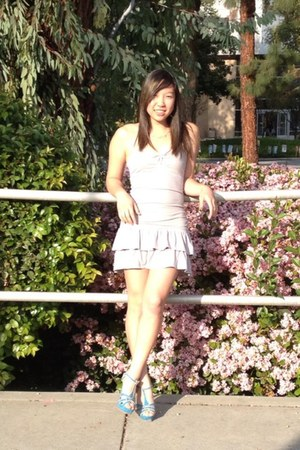 hollister dress - Shoedazzle heels