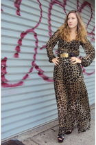H&M dress - vintage belt - Alice and Olivia for Payless shoes - Go International