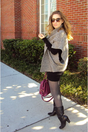 Old Navy sweater - H&M dress - Old Navy bag
