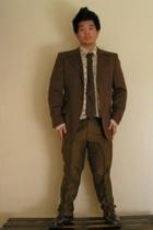 jacket - pants - shirt - tie