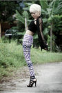 Black-cotton-on-intimate-purple-graniph-leggings-black-sass-bide-cardigan-