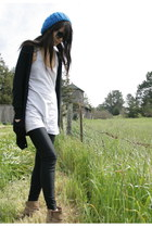 American Apparel dress - vintage boots - Urban Outfitters hat