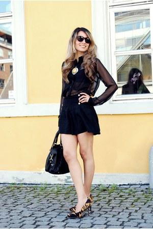 linen H&M blouse