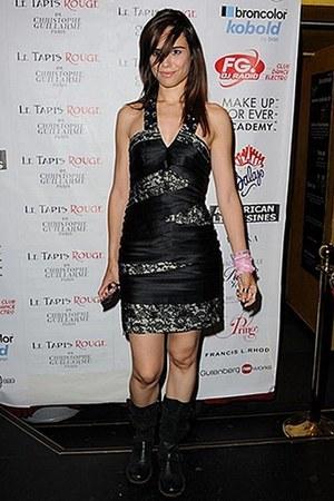 Dr Martens boots - Guillarmé dress - Melissa mars bracelet