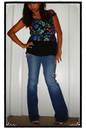 Express top - francescas top - Big star jeans - Steve Madden shoes
