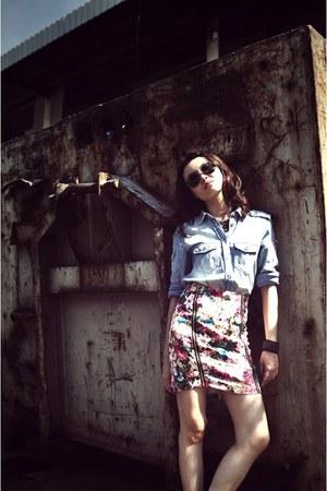 floral Style Societal skirt