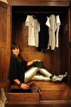 black m missoni sweater - silver Giuseppe Zanotti Design shoes