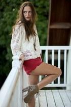 nastygal shorts - pretty sunday jumper
