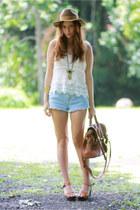 nastygal top - Topshop shorts