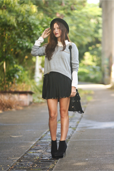 hm skirt - H&M jumper