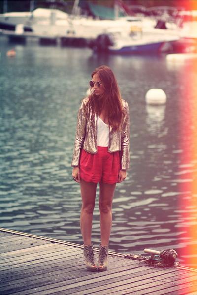 BB Dakota blazer - Nasty Gal shorts