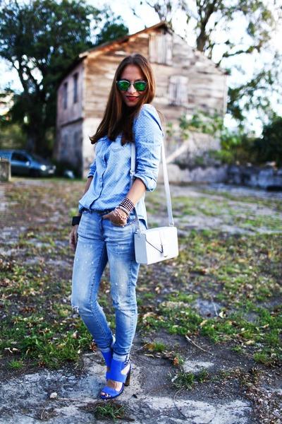 Mango jeans - Pimkie shirt