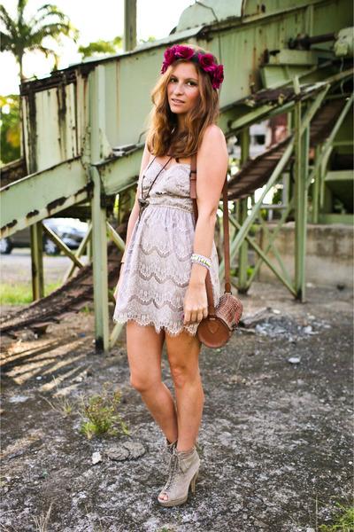 nastygal dress - asos boots