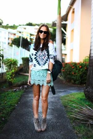 Tobi skirt - Topshop jumper