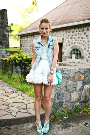 Topshop skirt - Zara heels