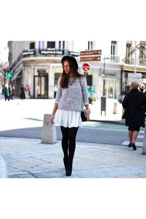 Promod jumper - Chicwish skirt