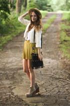 Ebay Store skirt - Jeffrey Campbell boots - nastygal bag