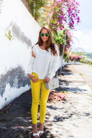 Zara jeans - Choies jumper