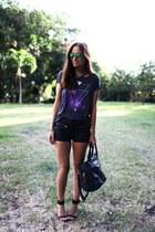 Pimkie t-shirt - Topshop shorts