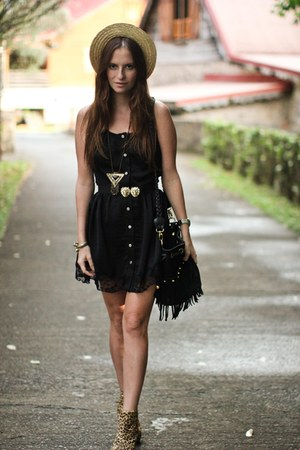 nastygal dress - nastygal bag
