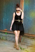 H&M dress - Jeffrey Campbell heels