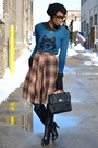 Black-modcloth-boots-blue-wolf-ladakh-sweater