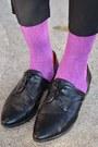 Black-vj-style-bag-orange-mink-pink-sweater
