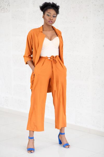 zaful suit - Zara heels