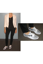 Twinkle By Wenlan blazer - J Brand jeans - Keds shoes