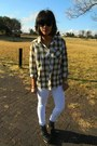 Guess-jeans-rvca-shirt-ray-ban-sunglasses-ankle-luella-clogs